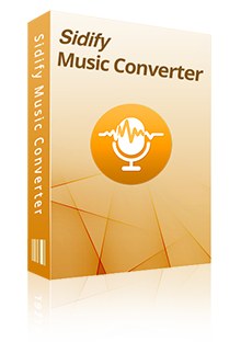 sidify music converter para spotify box
