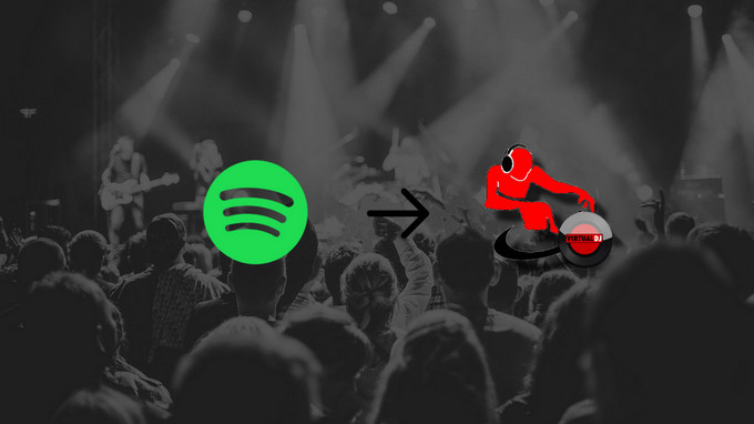 agregar spotify music a virtual dj