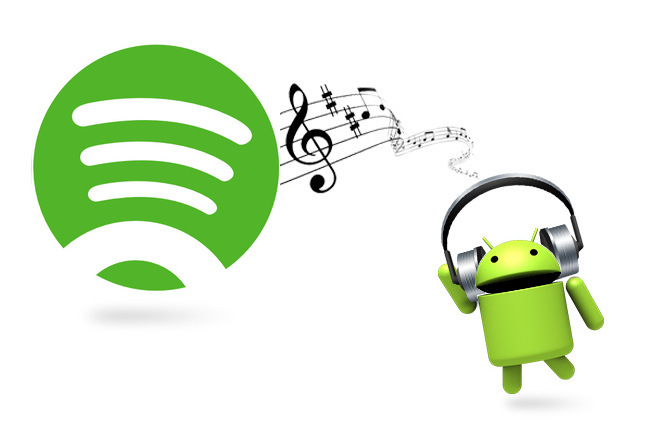 Sync Spotify music to Andriod for enjoying